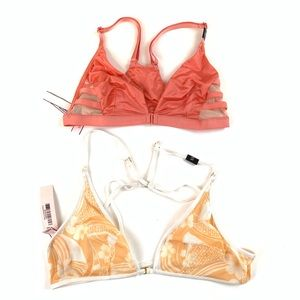 NEW NWT Lot Of 2 Victoria's Secret Bralettes XS